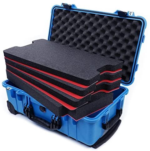 Blue Black Pelican 1510 with Tool foam inserts