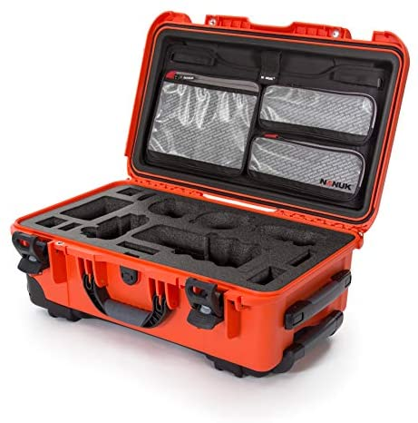 Nanuk 935 Waterproof Carry On Hard Case with Lid Organizer for