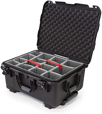 Nanuk 950 Waterproof Hard Case with Wheels and Padded Divider