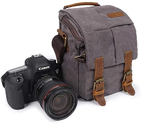Teerwere Photography Laptop Backpack Bag Crossboby Bag for Men Canvas