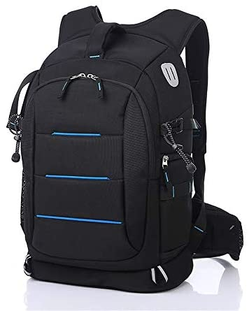 Teerwere Photography Laptop Backpack Camera Backpack Bag Professional for Mirrorless Camera Waterproof Camera Case Compatible for Camera and Lens Tripod Accessories for DslCamera Lens and Accessories