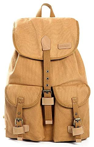 Teerwere Photography Laptop Backpack Casual SLR Camera Bag Men Canvas