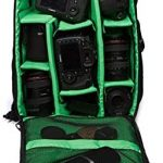 Wecnday Home Camera Backpack Multi Functional Waterproof 156inch Laptop DSLR Camera Bag