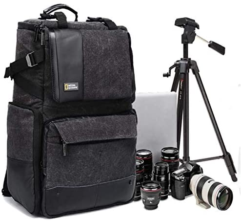 Xiao Tian SLR Camera Backpack Large Capacity Multifunction Anti Theft